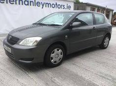 2004 Toyota Corolla 1.4 3DOOR H/B - Peter Hanley Motors - Quality Used Cars & Car ServicingPeter Hanley Motors – Quality Used Cars & Car Servicing