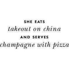inspiration #champagne #china #takeout