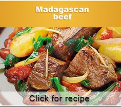Madagascan Beef Tenderloin is easy to make in an air fryer. The delicious blends of spices and vegetables make a savory sauce for this stew. Tefal Actifry, Actifry Recipes, Beef Recipes, Cooking Recipes, Chicken Recipes, Beef Tenderloin Recipes, Beef Casserole, Beef Dishes, Air Fryer Recipes