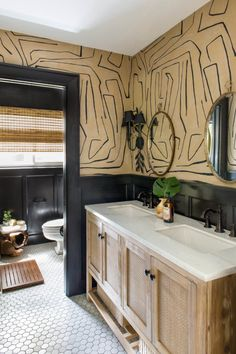 Black Board and Batten by Claire Brody Designs - Neutral Bathroom Reveal