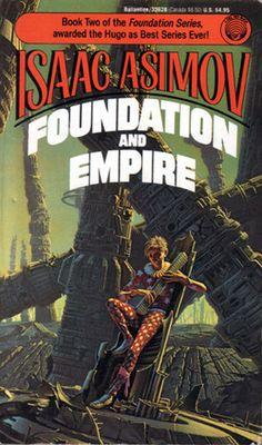 Isaac Asimov Foundation and Empire Fantasy Book Covers, Book Cover Art, Fantasy Books, Cover Books, Sci Fi Novels, Fiction Novels, Pulp Fiction, Arte Sci Fi, Sci Fi Art