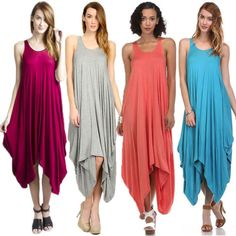 We got jumpsuits, pick a color!  Link: http://www.ebay.com/itm/NEW-ORIGINAL-MADE-IN-USA-Harem-Jumpsuit-Maxi-drapey-comfy-Jumper-Romper-S-M-L-/181816790757?var=&hash=item2a55200ee5  #jumpsuits #haremjumpsuits #ebay #summersale #ebaysale