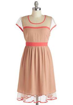 I adore this! Almond Cake Dress, #ModCloth