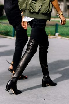 thigh-high boots | TheyAllHateUs
