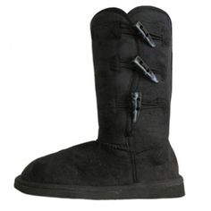 UGG-style Toggle Boots - Plush Microfiber Comfort Now 82% Off plus Free Shipping  #uggs #footwear #boots #winter #fashion #women #style #clearance #sale