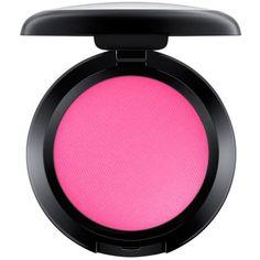 Mac Bright Pink Matte Powder Blush  Small (230 ZAR) ❤ liked on Polyvore featuring beauty products, makeup, filler, powder blush, mac cosmetics and mac cosmetics makeup