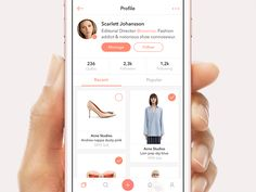 Hey friends, Here is an early concept for a social shopping app where the author curates lists of fashion items and outfits. Follow and buy the things your Fashionistas enjoy! Hit the L key to sh...