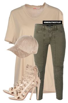 """""""Untitled #2239"""" by whokd ❤ liked on Polyvore featuring Prada Sport, J Brand, Aquazzura and River Island"""