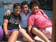 Il Volo, can you believe these little boys are our Piero, Gianluca & Ignazio!!!  Love you guys!!!!