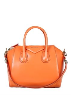 Antigona - Orange Givenchy Antigona, Givenchy Bags, Smooth Leather, Fashion  Bags, Leather d7f40ef522