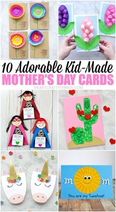 10 Adorable Mother's Day Card Ideas Kids Can Make this spring! Sweet ideas that mom will love to receive this spring! 10 Adorable Mother's Day Card Ideas Kids Can Make this spring! Sweet ideas that mom will love to receive this spring! Easy Mother's Day Crafts, Mothers Day Crafts For Kids, Mothers Day Cards, Crafts For Kids To Make, Happy Mothers Day, Card Making For Kids, Spring Crafts, Holiday Crafts, Mother's Day Activities