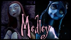 So incredibly fun to sing...   ♪ Sally's Song and Corpse Bride Medley /ORIGINAL LYRICS/ by Trickywi