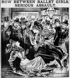 Another tribute to the amazing Ladies of the Illustrated Police News.