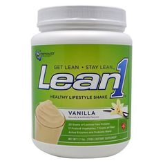 Nutrition 53 Lean1 Shake, Vanilla, 1.7 LB (Pack of 8) *** Save this wonderfull item : Weight loss Shakes and Powders