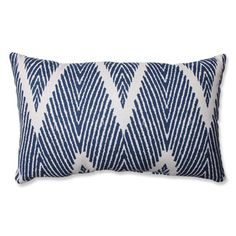Shop for Pillow Perfect Bali Navy Rectangular Throw Pillow. Free Shipping on orders over $45 at Overstock.com - Your Online Home Decor Outlet Store! Get 5% in rewards with Club O!