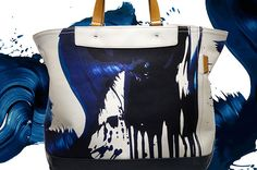 Always liked #JamesNares, from when I first read about him in #InterviewMagazine a few years back.  Now he's partnering with #Coach to make canvas totes!