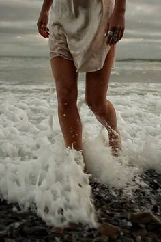 """I have Sea foam in my veins for I understand the language of the waves"" -Le Testament d'Orphee"