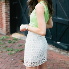 Selling this Sabo Skirt Neon Cutout Crop Top in my Poshmark closet! My username is: katefrancis. #shopmycloset #poshmark #fashion #shopping #style #forsale #Sabo Skirt #Tops
