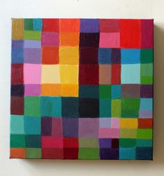 Abstract Painting - Acrylic paint on canvas