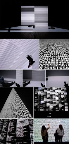 The Transfinite | interactive installation by Ryoji Ikeda | Japan's leading electronic composer and visual artist | Park Av Armory