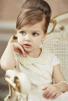 Trendy Hairstyles For Kids, Kids Hairstyles, Childrens Hairstyles. Too cute! Looks like a perfect little lady!