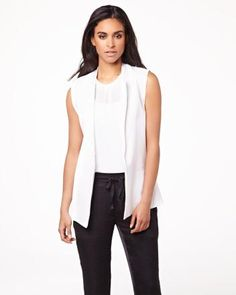 Long sleeveless vest RW&CO. Basic Tank Top, Vest, Tank Tops, Summer 2014, My Style, Shopping, Collection, Women, Fashion