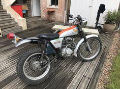 Trail Motorcycle, Enduro Motorcycle, Honda 125, Trial Bike, Trials, Adventure, Vintage, Old Motorcycles, Dirt Biking