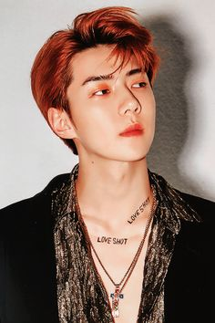 Don't be afraid he love is he way🍁Exo Baekhyun, Sehun Hot, Exo Exo, Exo Album, Exo Official, Exo Korean, Exo Ot12, Yoona, Beautiful Men