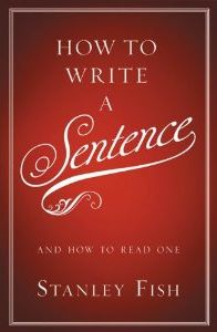 """Thanks to Deb Mor for this. """"How to Write a Sentence isn't merely a prescriptive guide to the craft of writing but a rich and layered exploration of language as an evolving cultural organism. It belongs not on the shelf of your home library but in your brain's most deep-seated amphibian sensemaking underbelly."""""""