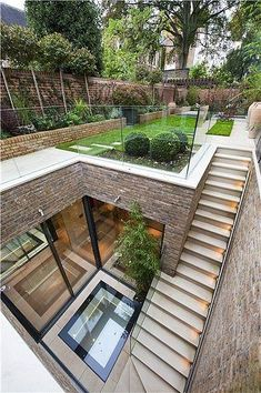 landscape architecture design Five bedroom terraced new house in South End, London - off High Street Kensington - listed on Zoopla for Nachhaltiges Design, House Design, Design Ideas, Garden Design, Wall Design, Bar Designs, Modern Design, Loft Design, Design Hotel