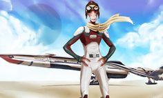 Me - The salarian pilot by TheSalmonArt on DeviantArt Mass Effect Collection, Mass Effect Characters, Space Cat, Comic Artist, Pilot, Wonder Woman, Princess Zelda, Deviantart, Superhero