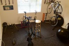 Check out this home gym remodel by this happy RubberFlooringInc Customer