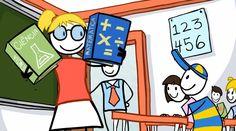 História animada da Educação no Brasil