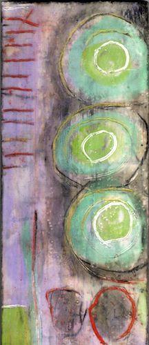 art workman: karlaenglehardt: Untitled, Encaustic By Karla Englehardt Mix Media, Mixed Media Art, Encaustic Painting, Painting Art, Paintings, Arte Pop, Art Graphique, Medium Art, Art Techniques