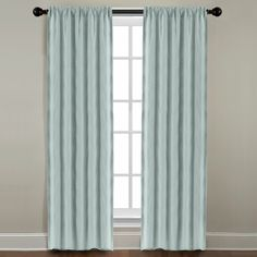 Grand Luxe Mineral All Linen Gotham Rod Pocket Panel