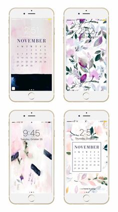 Fall Floral Mobile/Desktop Wallpapers!