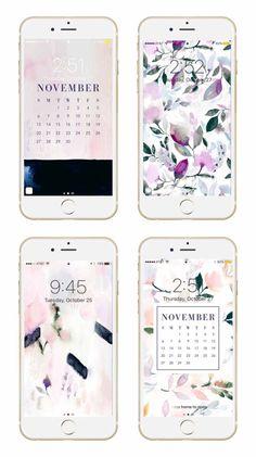 Fall Floral Mobile/Desktop Wallpapers!