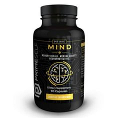 """Optimal Cognitive Functioning!"" Prime Mind is an all-natural, nootropic product specifically designed to create the ultimate cognitive performance supplement available today.  Prime Mind contains a synergistic blend of natural nootropics, neuro-enhancers and ""brain minerals"" to provide and fuel the mind with all necessary components to operate at maximum capacity.   #Nootropics #Nootropic #Health #Mind #PrimeSelf"