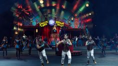 Ringling Bros. and Barnum & Bailey performers are seen during a show Saturday, Jan. 14, 2017, in Orlando, Fla.