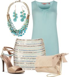 """""""Style These Heels - Summer Night Out!"""" by chaneldreamer ❤ liked on Polyvore"""