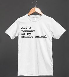 David Tennant | Fitted T-shirt | Front