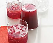 Pomegranate-Champagne Punch