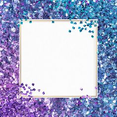 Festive glitter frame psd gradient sparkly background | free image by rawpixel.com / PLOYPLOY Sparkly Background, Glitter Frame, Backgrounds Free, Free Illustrations, Creative Home, Free Images, Purple, Blue, Festive
