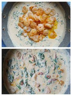 Krevety v omáčke s nádychom stredomoria (fotorecept) - obrázok 3