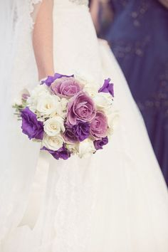 Purple bouquet. Really like the different shades of purple. Perfect if I move to June