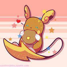Alolan Raichu <<< it's soo cute