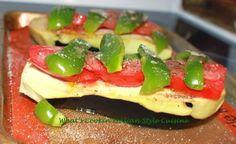 What's Cookin' Italian Style Cuisine: Italian Salsa Roasted Eggplant Recipe