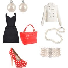 Pearls!, created by lchisner on Polyvore