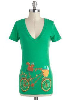 Tour de Forest Top, #ModCloth ....ridiculous! love it!