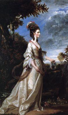 .:. Jane, Countess of Harrington, 1775 Joshua Reynolds
